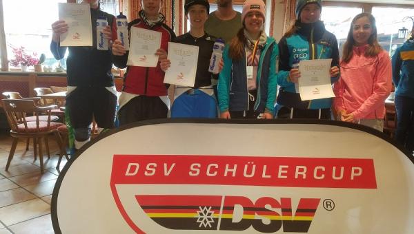 Lynn Fischer beim DSC-Finale am Unterjoch...